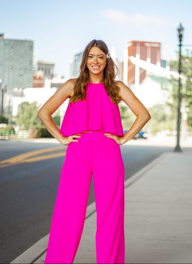 Pretty in Pink – in Stassi Schroeder's OOTD Collection