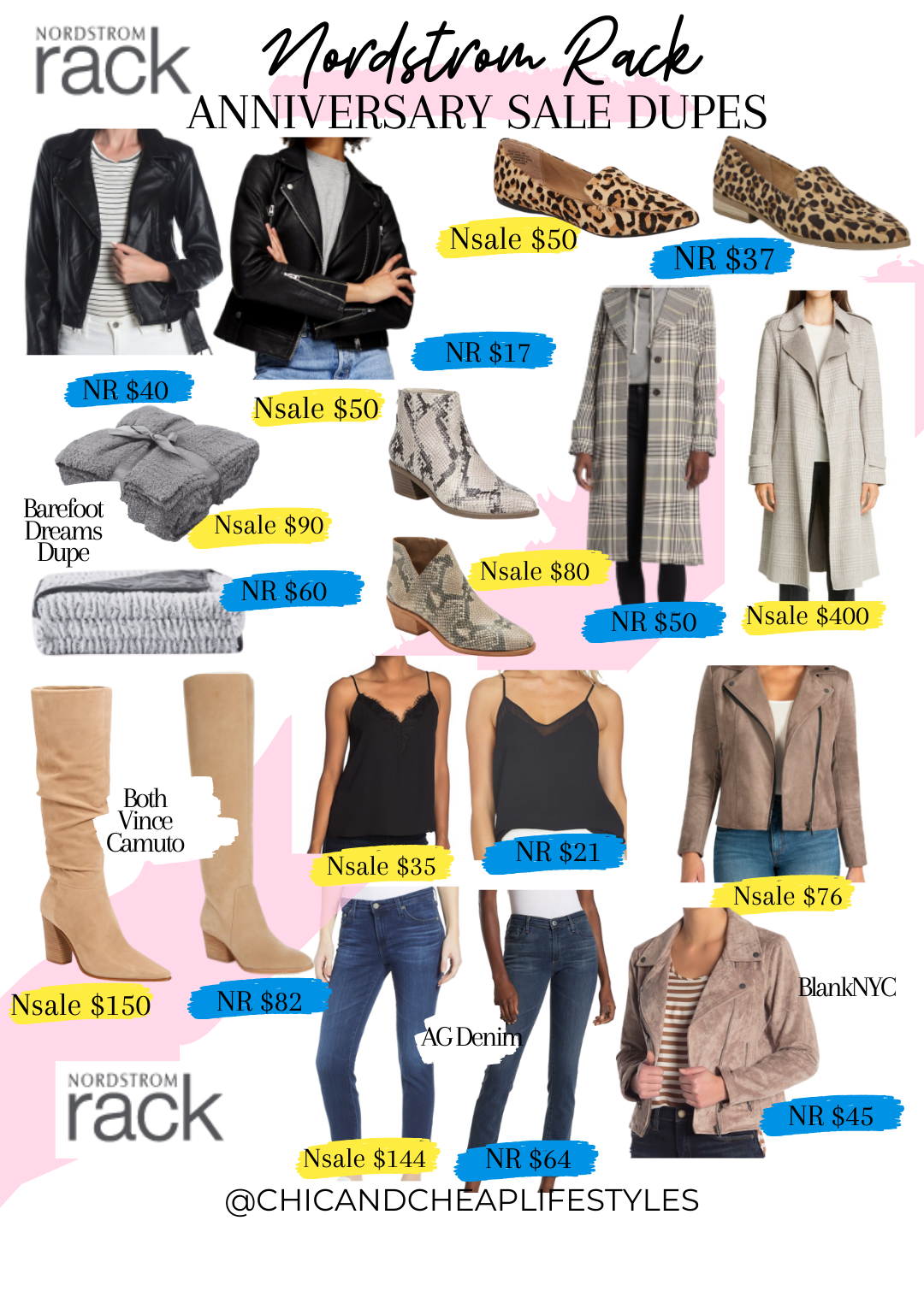 Nordstrom Rack Dupes for the Nordstrom Anniversary Sale